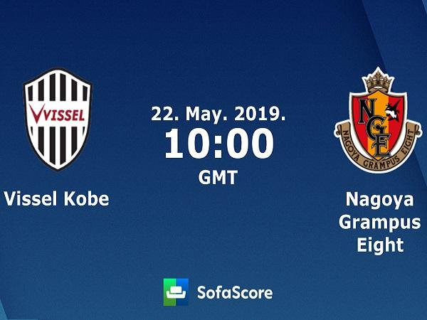 Soi kèo Vissel Kobe vs Nagoya Grampus, 17h00 ngày 22/05
