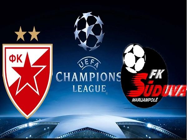 Dự đoán Crvena Zvezda vs Suduva, 1h45 ngày 17/07