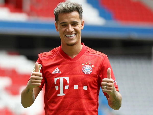 Huyền thoại bóng đá Đức chê Coutinho kém tài