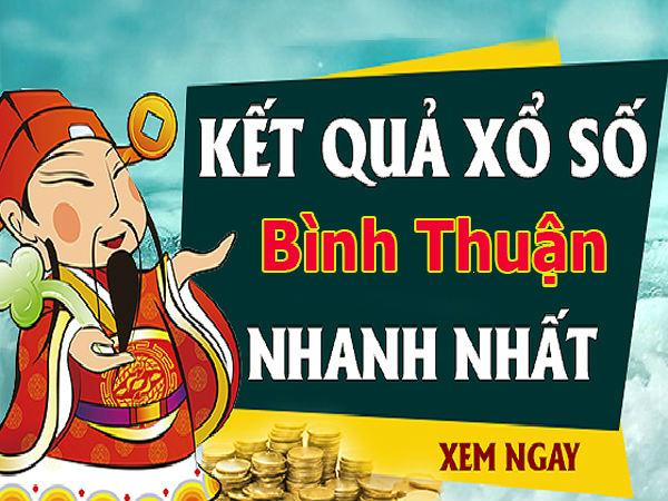 Soi cầu XS Bình Thuận chính xác thứ 5 ngày 14/11/2019