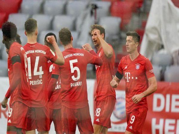 Bayern thẳng tiến đang đứng trước cơ hội vô địch lần thứ 8 liên tiếp