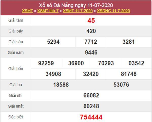 Dự đoán XSDNG 15/7/2020 chốt KQXS Đà Nẵng thứ 4
