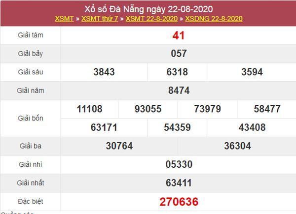 Soi cầu KQXS Đà Nẵng 26/8/2020 thứ 4 chi tiết nhất