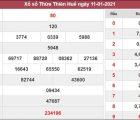 Dự đoán XSTTH 18/1/2021 xin số đề Thừa Thiên Huế siêu chuẩn