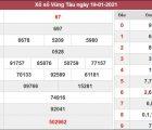 Nhận định KQXS Vũng Tàu 26/1/2021 chốt số đẹp XSVT hôm nay