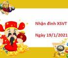 Nhận định XSVT 19/1/2021