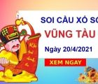 Soi cầu XSVT ngày 20/4/2021
