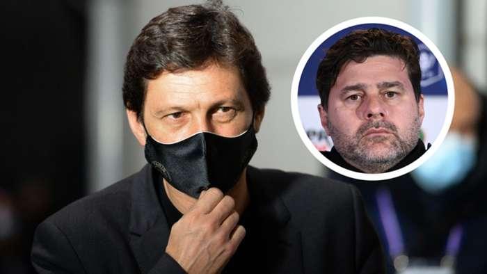 Giám đốc PSG, Leonardo từ chối các báo cáo của Pochettino