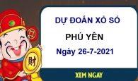 Dự đoán XSPY ngày 26/7/2021
