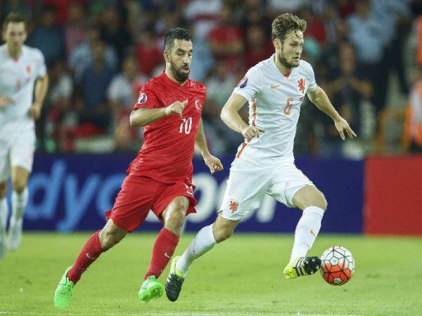 Nhận định tỷ lệ Hà Lan vs Thổ Nhĩ Kỳ, 1h45 ngày 8/9 - VL World Cup